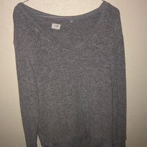 Sweaters - GRAY SOFT/COZY SWEATER
